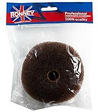 Fragrances, Perfumes, Cosmetics Hair Bun Maker, 11x4.5 cm, brown - Ronney Professional Hair Bun 050