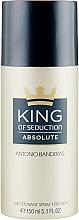 Fragrances, Perfumes, Cosmetics Antonio Banderas King of Seduction Absolute - Deodorant Spray