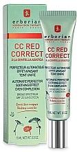 Fragrances, Perfumes, Cosmetics Correcting Face Cream - Erborian CC Red Correct
