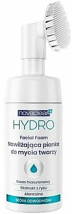 Moisturizing & Cleansing Face Foam - Novaclear Hydro Facial Foam — photo N1
