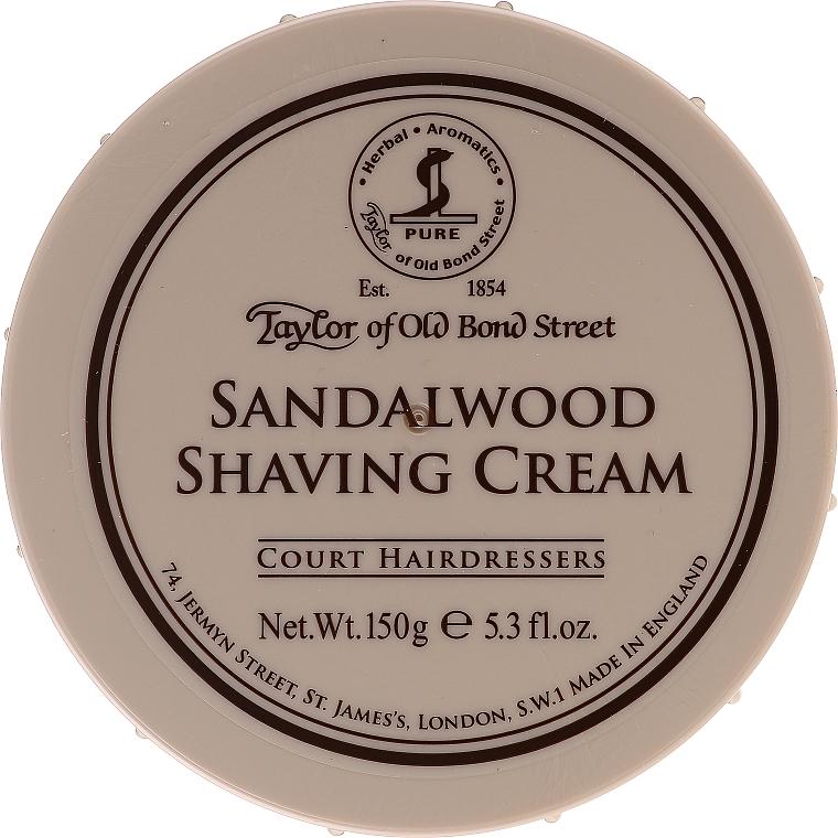 "Shaving Cream ""Sandalwood"" - Taylor of Old Bond Street Sandalwood Shaving Cream Bowl"