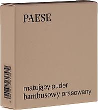 "Fragrances, Perfumes, Cosmetics Face Powder ""Matte"" - Paese Powder Mate"