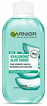 Fragrances, Perfumes, Cosmetics Moisturizing Aloe Vera Toner - Garnier Skin Naturals Hyaluronic Aloe Toner