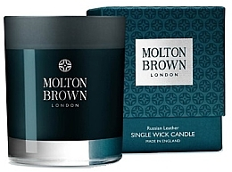 Fragrances, Perfumes, Cosmetics Molton Brown Russian Leather Single Wick Candle - Scented Candle