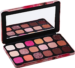 Fragrances, Perfumes, Cosmetics Eyeshadow Palette, 18 Shades - Makeup Revolution Forever Flawless Palette