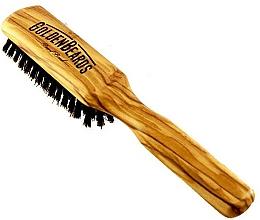Fragrances, Perfumes, Cosmetics Beard Brush, 20 cm - Golden Beards Beard Brush