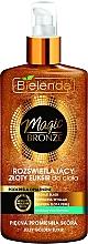 Fragrances, Perfumes, Cosmetics Illuminating Body Elixir - Bielenda Magic Bronze Illuminating Golden Body Elixir