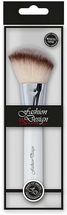 Makeup Brush, 37184 - Top Choice Fashion Design White Line