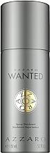 Fragrances, Perfumes, Cosmetics Azzaro Wanted - Deodorant-Spray