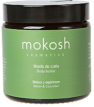 """Fragrances, Perfumes, Cosmetics Body Butter """"Melon & Cucumber"""" - Mokosh Cosmetics Body Butter Melon & Cucumber"""