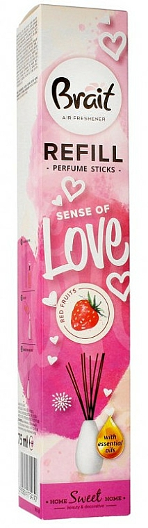 Red Fruits Reed Diffuser - Brait Home Sweet Home Sense Of Love Refill (refill)