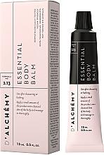 Fragrances, Perfumes, Cosmetics Body Balm - D'Alchemy Essential Body Balm (mini size)