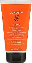 Fragrances, Perfumes, Cosmetics Repair Strength & Shine Orange & Honey Conditioner for All Hair Types - Apivita Shine And Revitalizing Conditioner For All Hair Types With Orange & Honey
