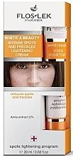 Fragrances, Perfumes, Cosmetics Intense Spots and Freckles Brightening Cream - Floslek White & Beauty Intense Spots And Freckles Lightening Cream
