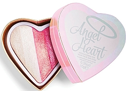Fragrances, Perfumes, Cosmetics Highlighter Palette - I Heart Revolution Angel Heart