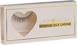 Fragrances, Perfumes, Cosmetics False Lashes - Lash Brown Premium Silk Lashes Be Natural
