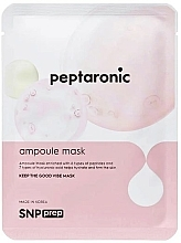 Fragrances, Perfumes, Cosmetics Moisturizing Sheet Mask with Peptides - SNP Prep Peptaronic Ampoule Mask