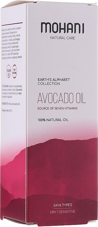 """Natural Oil """"Avocado"""" - Mohani Avocado Oil"""