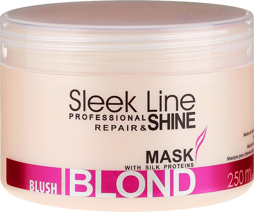 Hair Mask - Stapiz Sleek Line Blush Blond Mask