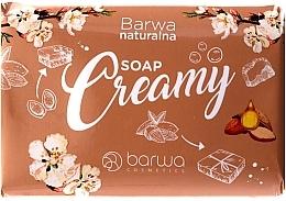 Fragrances, Perfumes, Cosmetics Almond Oil Cream Soap - Barwa Natural