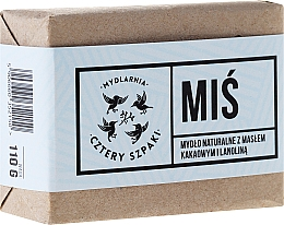 "Fragrances, Perfumes, Cosmetics Soap ""Mis"" - Cztery Szpaki Soap"