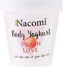 "Fragrances, Perfumes, Cosmetics Body Jogurt ""Peach Love"" - Nacomi Body Jogurt Peach Love"