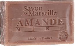 "Fragrances, Perfumes, Cosmetics Natural Soap ""Almond and Honey"" - Le Chatelard 1802 Almond & Honey Soap"
