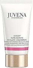 Fragrances, Perfumes, Cosmetics Neck and Decollete Nourishing & Rejuvenating Concentrate - Juvena Juvelia Nutri Restore Decollete Concentrate