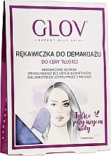 Fragrances, Perfumes, Cosmetics Makeup Remover Glove, purple - Glov Expert Oily and Mixed Skin