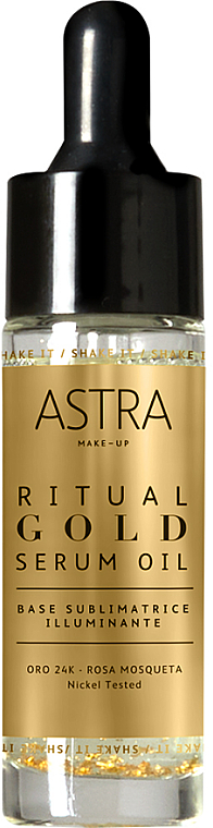Gold Primer - Astra Ritual Gold Serum Oil — photo N1