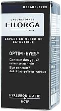 Fragrances, Perfumes, Cosmetics Dark Circle, Puffiness & Wrinkle Eye Treatment - Filorga Optim-Eyes