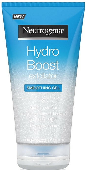 Smoothing Face Peeling - Neutrogena Hydro Boost Exfoliator Smoothing Gel