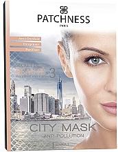Fragrances, Perfumes, Cosmetics Purifying & Oxygenating Facial Mask - Patchness City Mask