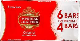 Fragrances, Perfumes, Cosmetics Soap Set - Cussons Imperial Leather Soap Original (Soap/100g x 6pcs) (6 x 100 g)