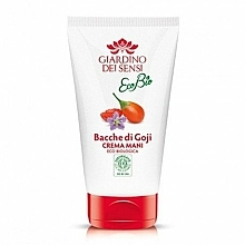Fragrances, Perfumes, Cosmetics Hand Cream - Giardino Dei Sensi Ecobio Goji Berries Hand Cream