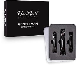 Fragrances, Perfumes, Cosmetics Men Manicure Set - NeoNail Professional Gentleman Manicure Set