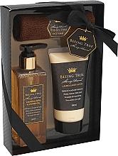 Fragrances, Perfumes, Cosmetics Set - Beeing True (sh/gel 250ml +sh/balm 180ml + towel)