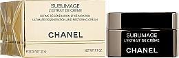 Fragrances, Perfumes, Cosmetics Regeneration and Restoration Face, Neck and Decollete Cream - Chanel Sublimage L'extrait De Crème