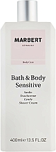 Fragrances, Perfumes, Cosmetics Shower Cream - Marbert Bath & Body Sensitive Gentle Shower Cream