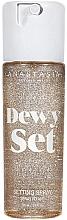 Fragrances, Perfumes, Cosmetics Makeup Fixing Spray - Anastasia Beverly Hills Dewy Set Setting Spray