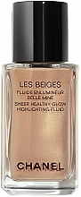 Fragrances, Perfumes, Cosmetics Fluid Highlighter - Chanel Les Beiges Sheer Healthy Glow Highlighting Fluid