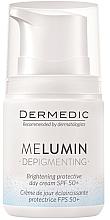 Fragrances, Perfumes, Cosmetics Day Cream from Age Spots - Dermedic MeLumin Depigmenting Cream SPF 50+