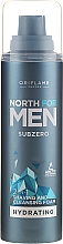 Fragrances, Perfumes, Cosmetics Face Cleansing and Shaving Foam 2in1 - Oriflame Subzero North For Men Shaving Foam