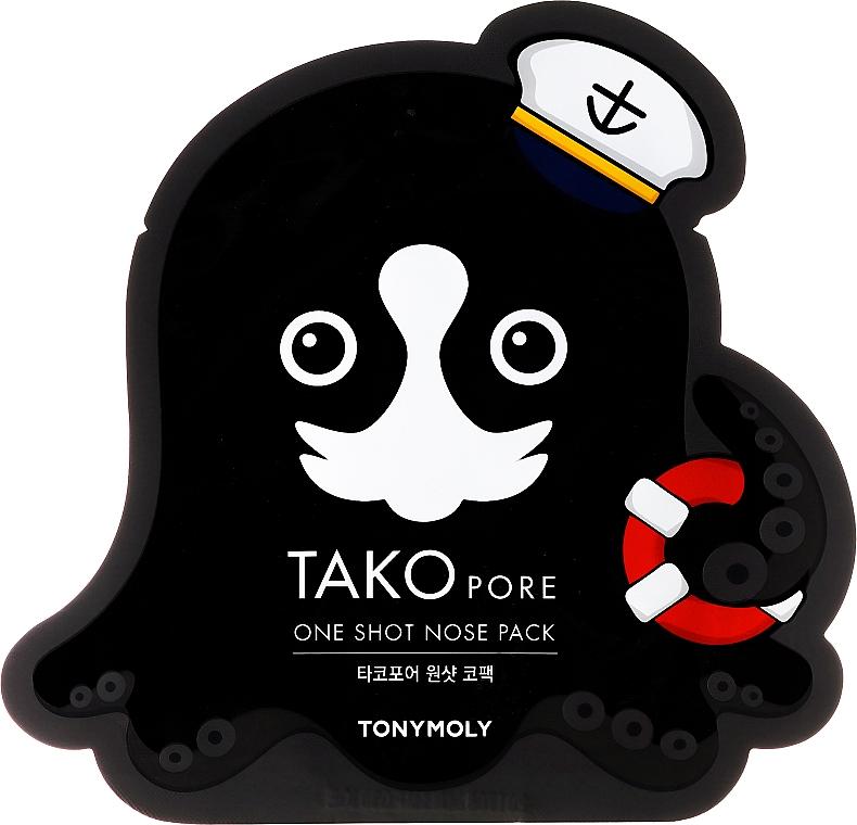 Anti-Blackhead Mask Patch - Tony Moly Tako Pore One Shot Nose