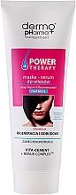 "Fragrances, Perfumes, Cosmetics Hair Serum Mask ""Repair & Reconstruction"" - Dermo Pharma Power Therapy Deep Repair & Reconstruction Hair Mask"
