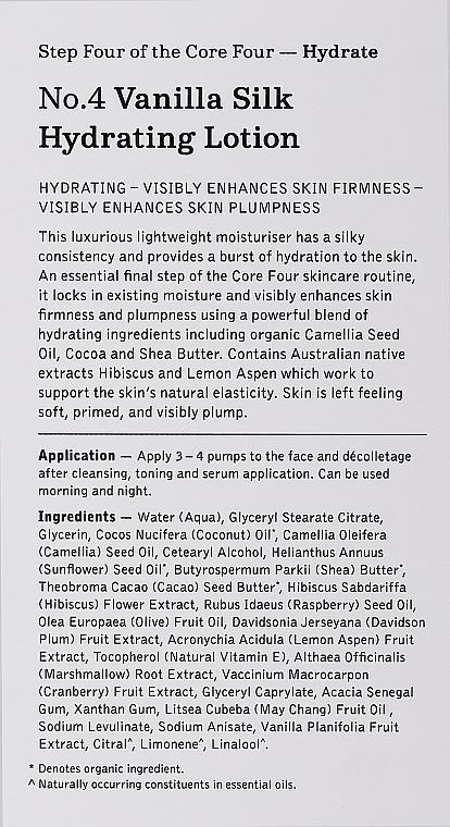 Moisturizing Face Lotion #4 - Edible Beauty No. 4 Vanilla Silk Hydrating Lotion — photo N2