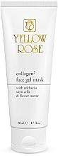Fragrances, Perfumes, Cosmetics Collagen Gel Mask - Yellow Rose Collagen2 Gel Mask