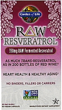"Fragrances, Perfumes, Cosmetics Dietary Supplement ""Resveratrol"" - Garden of Life Raw Resveratrol"