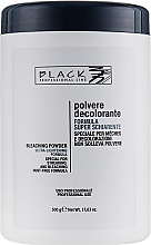Fragrances, Perfumes, Cosmetics Bleaching Hair Powder, dark blue (jar) - Black Professional Line Bleaching Powder Blue
