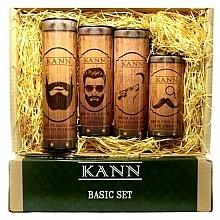 Fragrances, Perfumes, Cosmetics Set - Kann Basic Man (f/d/cr/50ml + f/n/cr/50ml+ f/gel/150ml + eye/cr/15ml)